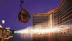 The Wynn Palace in Cotai, Macau, offers a 360-degree take on all things opulent